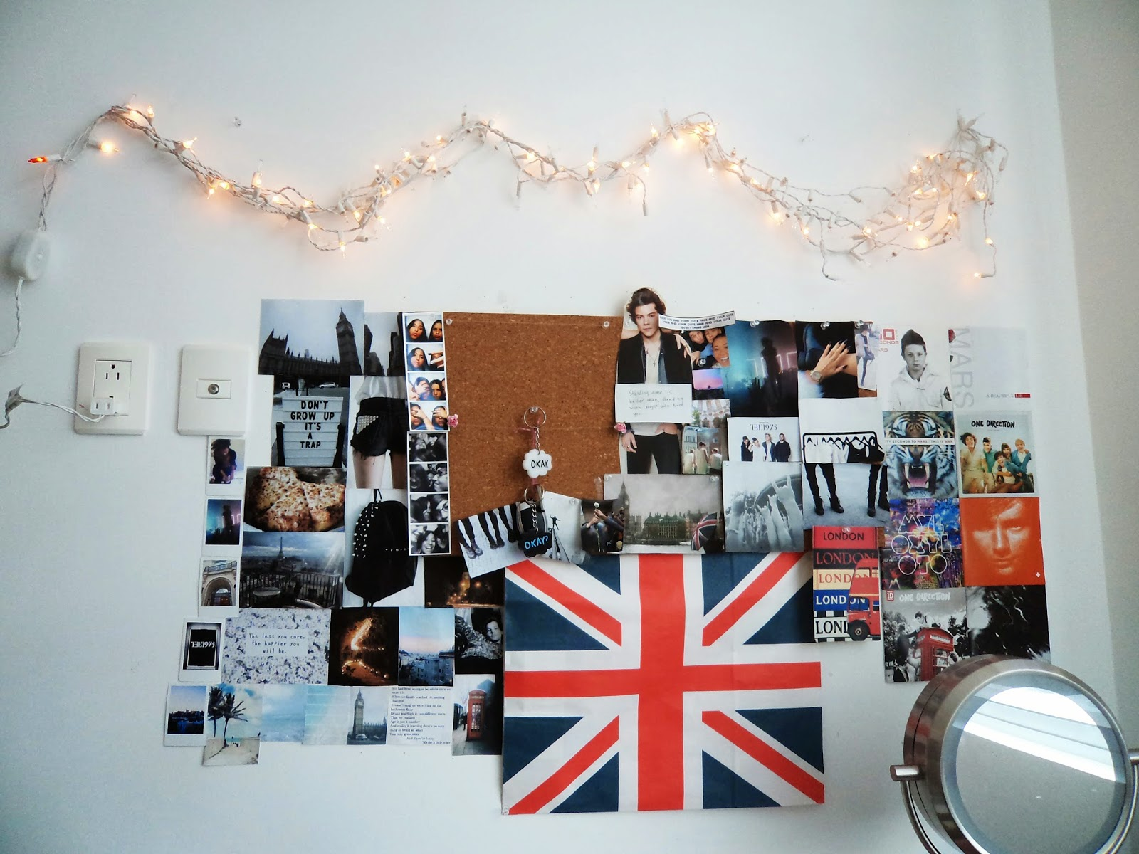 Diy decora tu cuarto estilo tumblr f cil y sin gastar - Cosas para decorar tu habitacion ...
