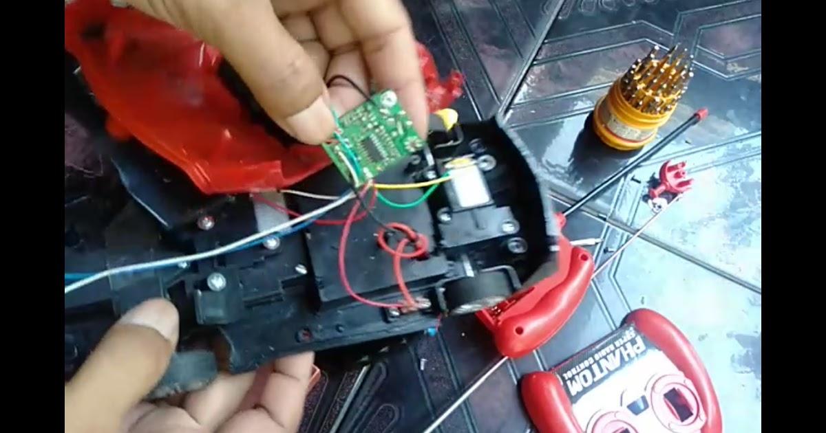 Cara Melacak Kerusakan Komponen Mainan Mobil Remot Control Iwansadja
