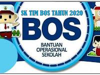 Contoh Format SK TIM BOS Reguler Tahun 2020 Terbaru