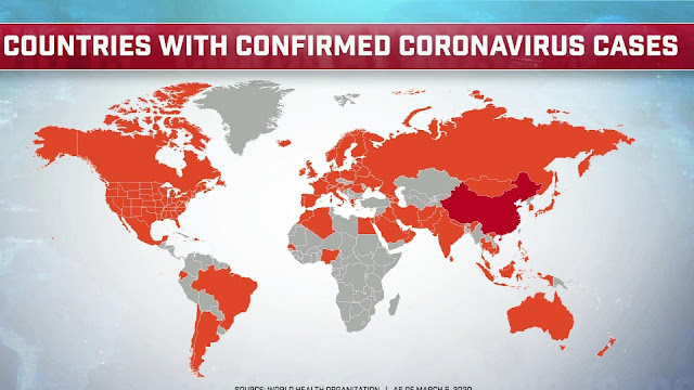 Coronavirus World Map
