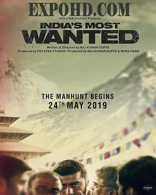 Indias Most Wanted 2019 Watch Full Movie 720p | 480p | HDRIP x265 [Download]