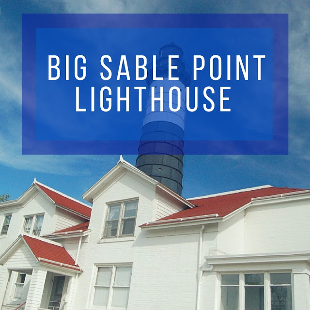 the siberian american lake michigan circle tour big sable point lighthouse in ludington michigan. Black Bedroom Furniture Sets. Home Design Ideas