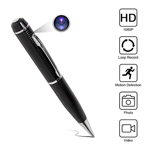 Spy Camera 2K Star Light Night Vision Pen GSmade Full HD 1296p Video Recording P