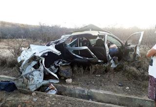 Sudoeste: Cinco pessoas ficam feridas após acidente na BA-262
