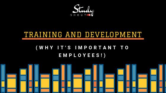Training and Development - StudyShout, importance of training and development, importance of training, importance of employees