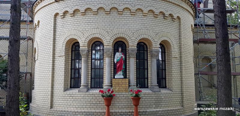 Warszawa Warsaw kościół Leontij Benois garnizon architektura architecture kościoły Szwoleżerów
