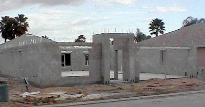 New construction concrete block home in Venice FL