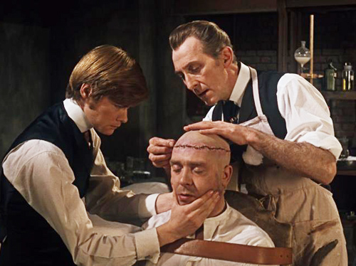 Still from Frankenstein Must Be Destroyed, 1969