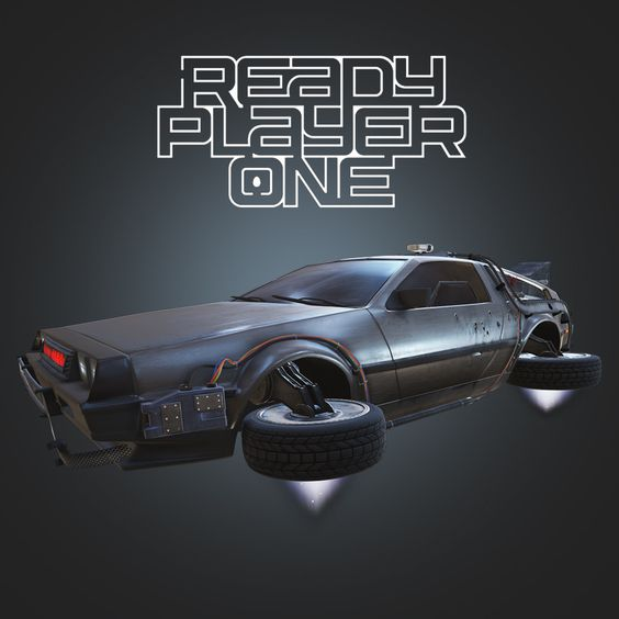 Ready Player One - Parzival's DeLorean