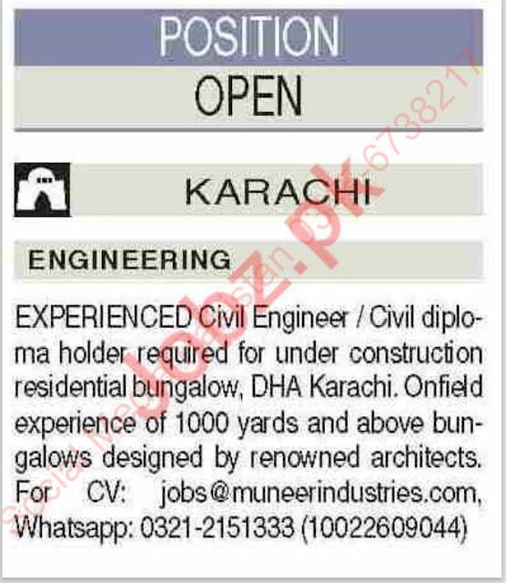 Civil Engineering Jobs 2021