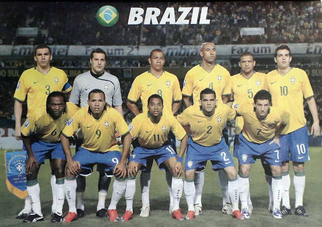 BRAZIL TEAM SQUAD 2010