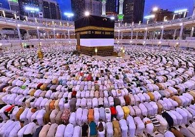 Foto Masjidil Haram Mekkah Al Mukarromah Shalat Subuh