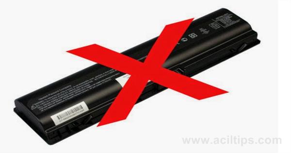 Cara Agar Baterai Laptop Tidak Cepat Suak atau Rusak