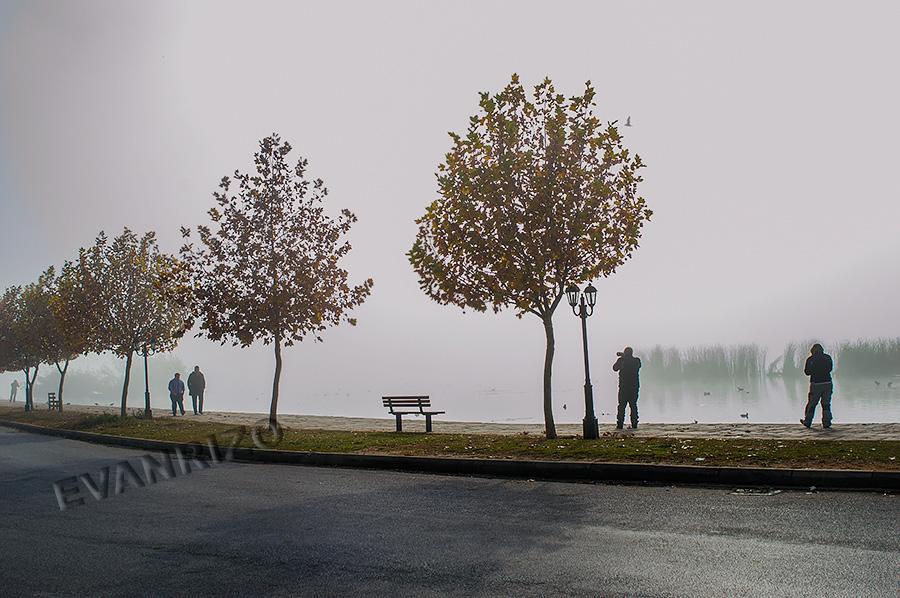 Ένα σαββατιάτικο πρωϊνό με ομίχλη