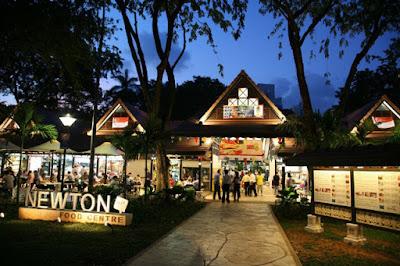 Trung tâm ẩm thực Newton tại Singapore