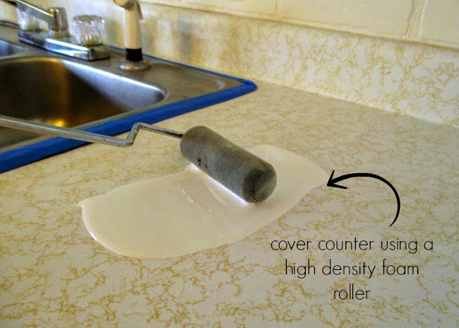 How To Paint Over Cultured Marble Countertops Source · High Heels And  Training Wheels DIY Counters Laminate To Marble