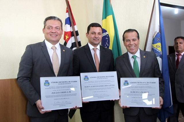 Marco Aurélio recebe Título de Cidadão Itaririense