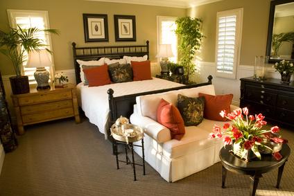 Bedroom Design Decor: Romantic Master Bedroom Decorating ...