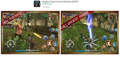 game offline petualangan perang