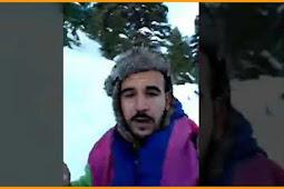 انقاذ شابين تقطعت بهم السبل بجبل تدغين شمال المغرب