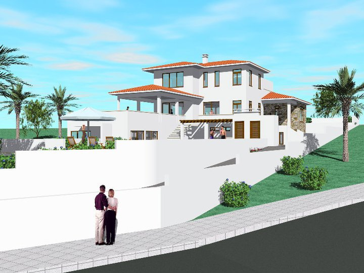 New home designs latest modern double story home design for Modern home design exterior 2013