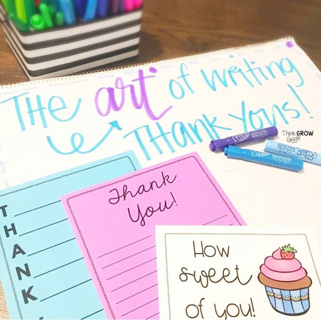 Gratitude Activities in the elementary classroom