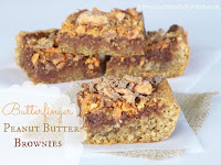 butterfinger peanut butter brownies