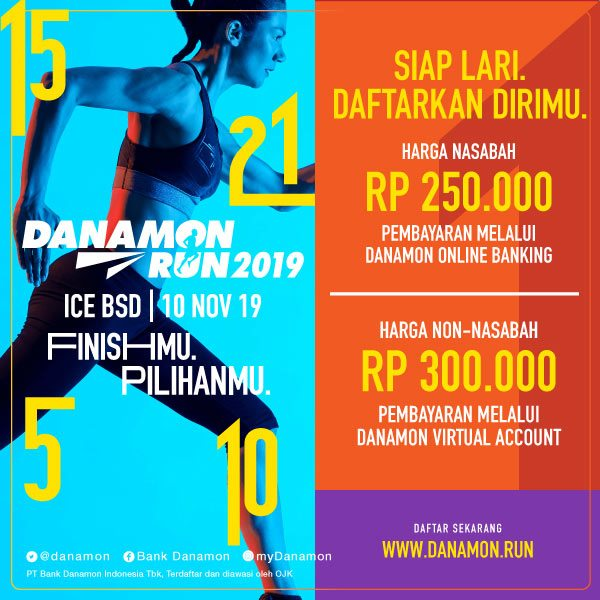 Danamon Run • 2019