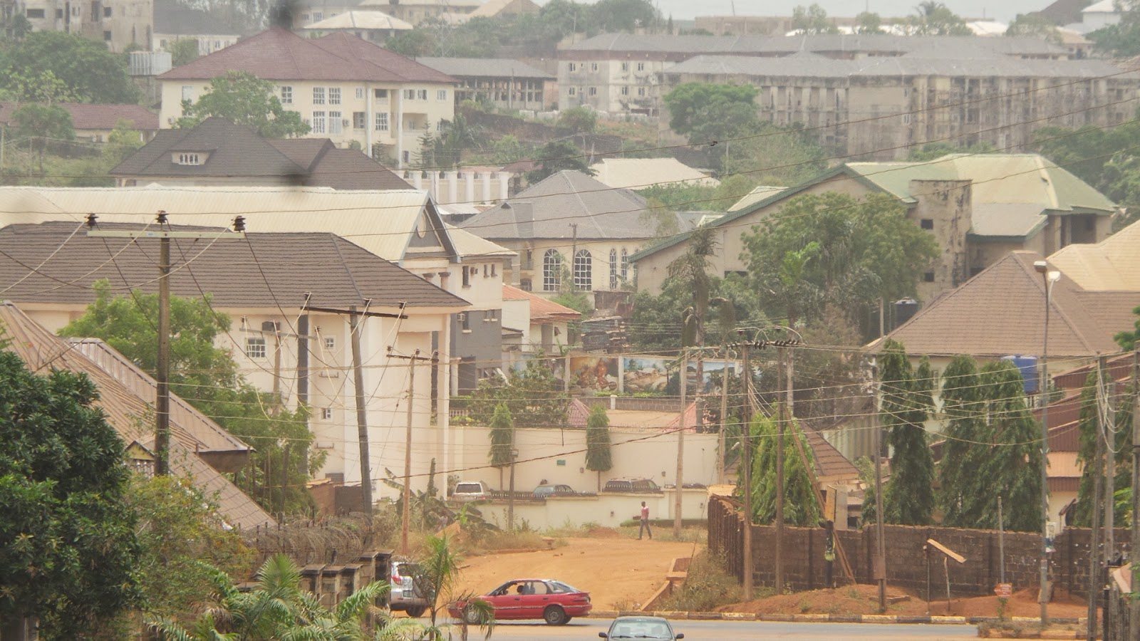 A view of independence layout enugu