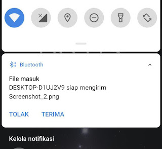 Cara Mengirim File Lewat Bluetooth Hp Ke Laptop Windows 10