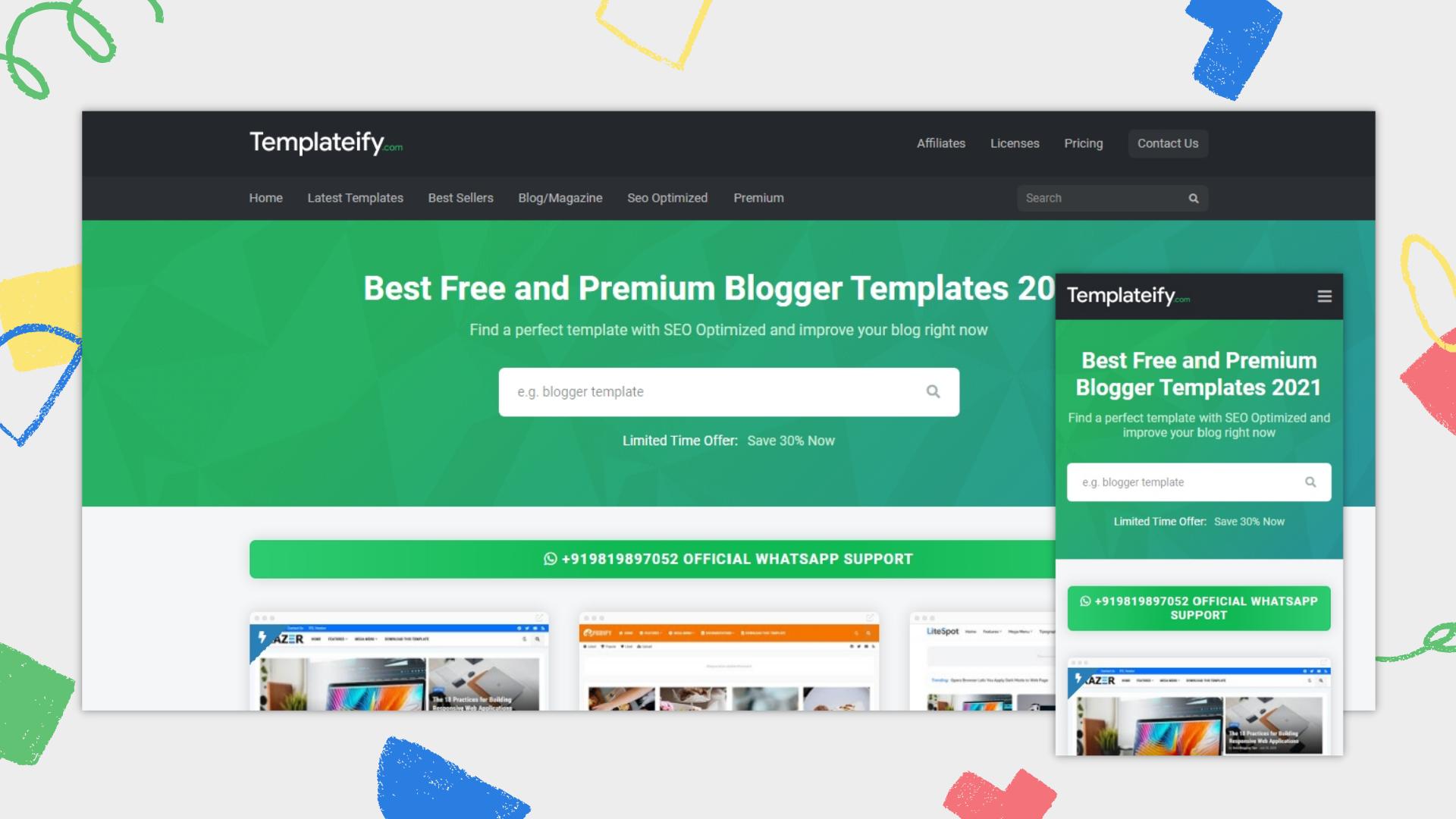 templateify-pro-blogger-template-free