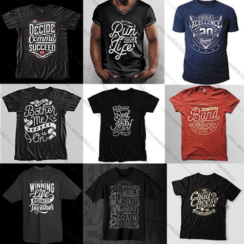 I will make amazing | typography | printable t-shirt-design