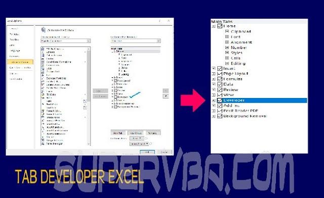 Memunculkan Tab Developer di Excel 2010 dengan Mudah