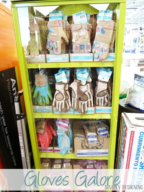 Garden Gloves DIY Flower Tower, Home Depot #sponsored #digin #heartoutdoors #spring
