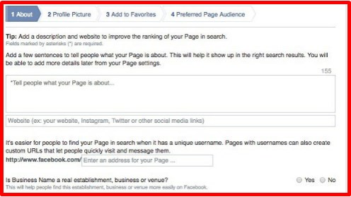 how to make a facebook page for a business private