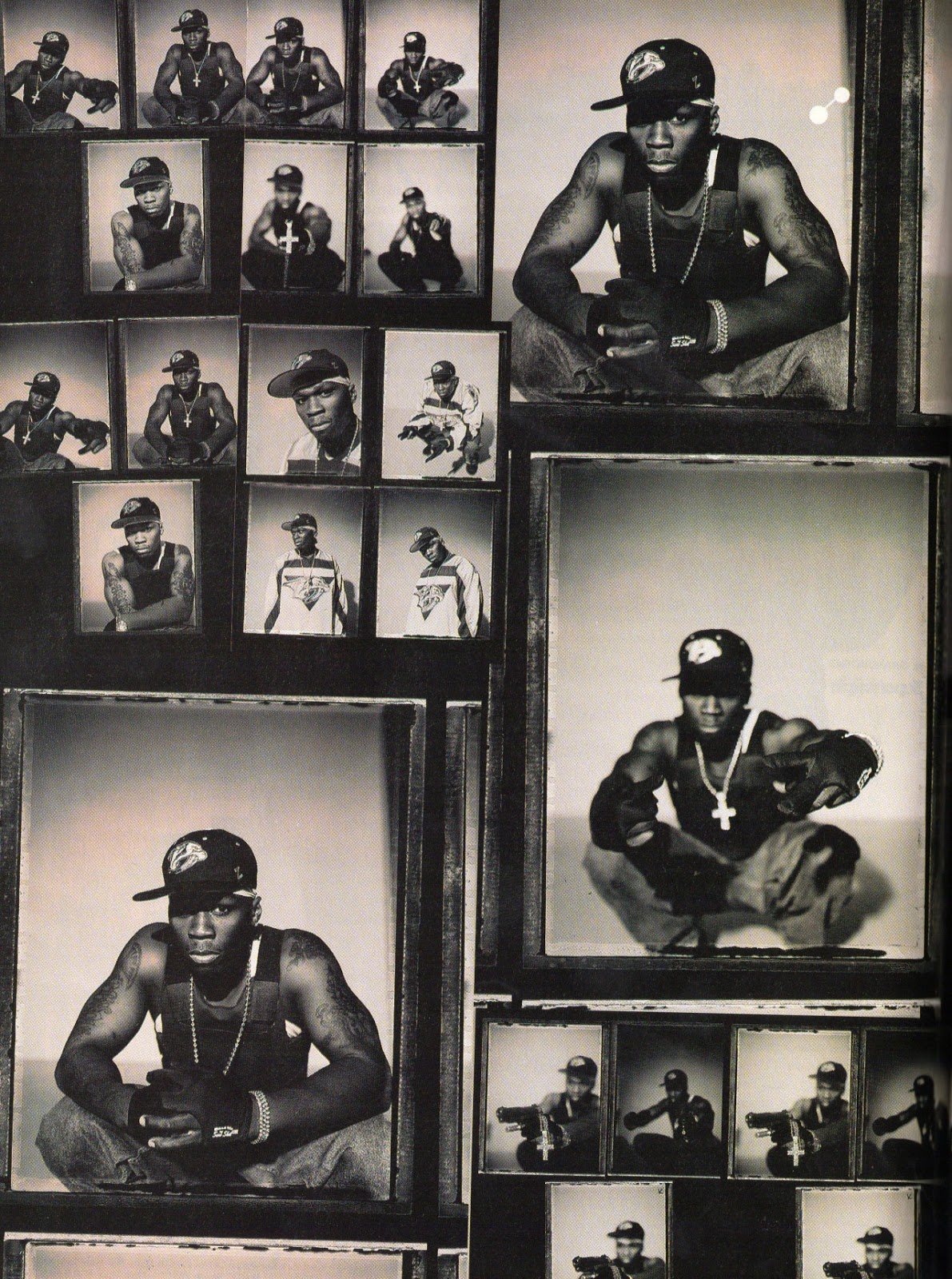 50 Cent Press Pics Negatives