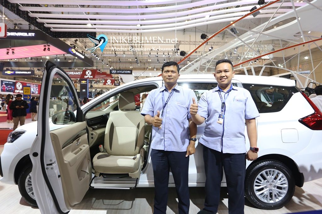 All New Ertiga Support Concept, Kendaraan Ramah Disabilitas