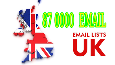 87k UK email list high quality customers virgin media