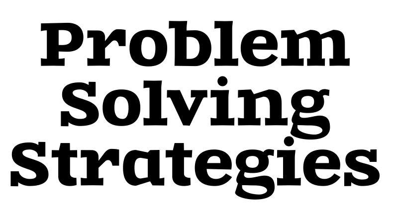 math strategies posters printable