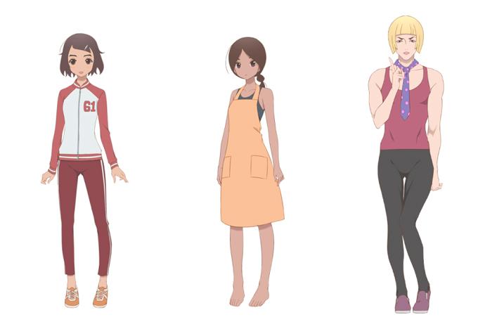 Kakushigoto anime - personajes