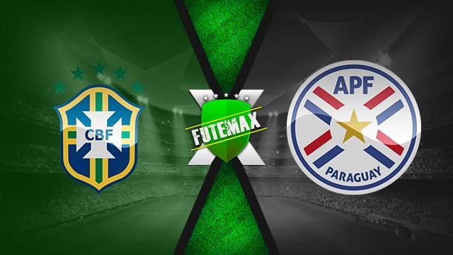 Assistir Brasil x Paraguai ao vivo dia 27/06/2019 às 21h30 - Copa América - Transmissão da TV GLOBO e SPORTV   (FUTEMAX)