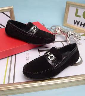 giày da nam giay lười Salvatore Ferragamo