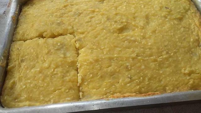 Como fazer bolo de batata doce cozida