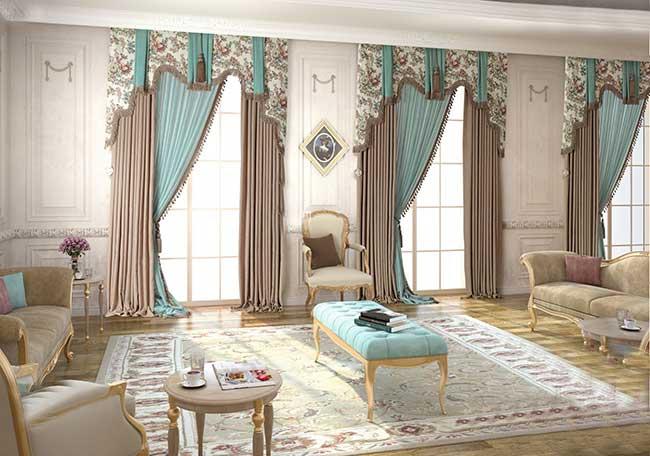 Các mẫu rèm cửa biệt thự cao cấp sang trọng nhất