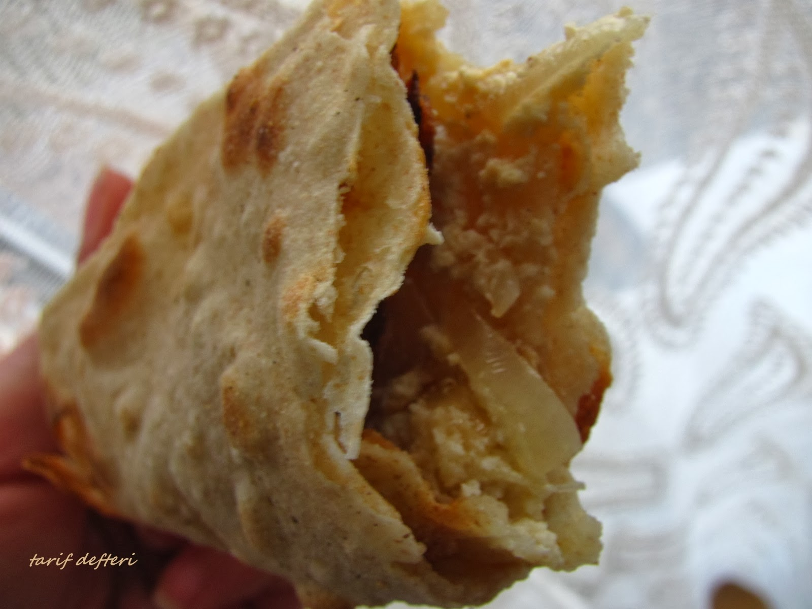 Peynirli Sıkma Tarifi (Mersin)