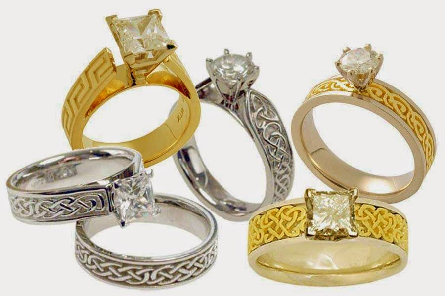 celtic wedding rings sets