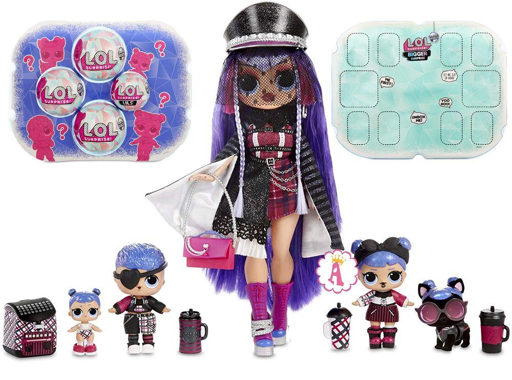 Кукла L.O.L. O.M.G. Shadow и семья Лол Сюрприз Midnight