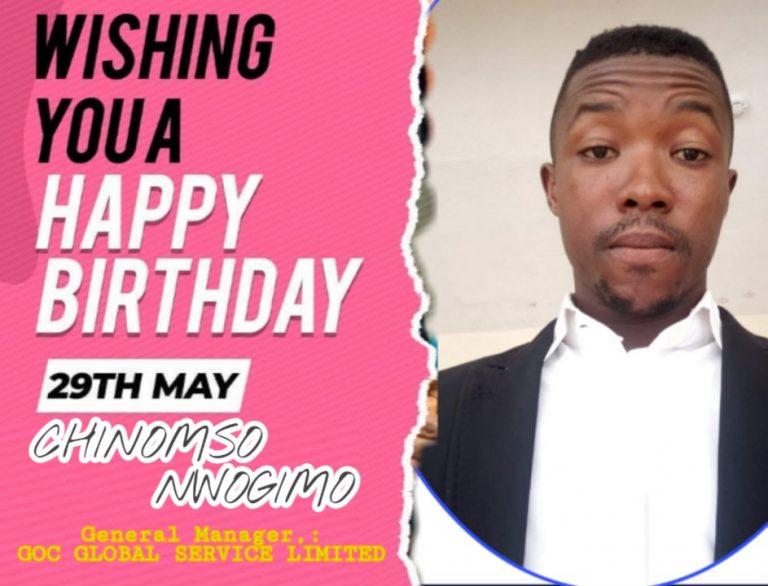 News: Chinomso Nwogimo Celebrate His Birthday #Arewapublisize