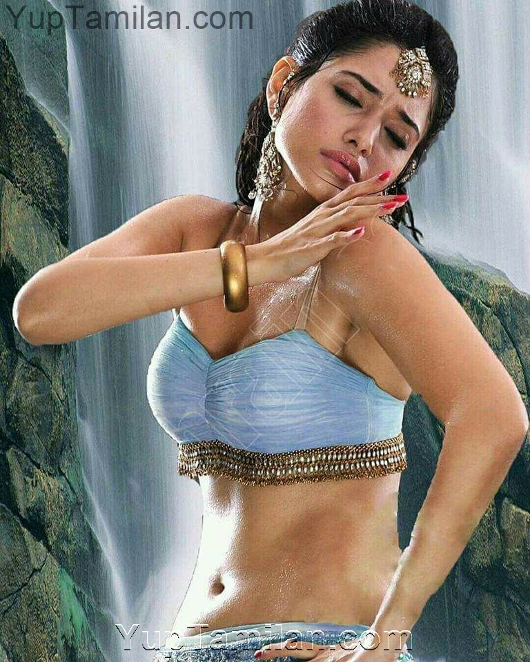 Tamanna Hot Navel Show-Belly Pics