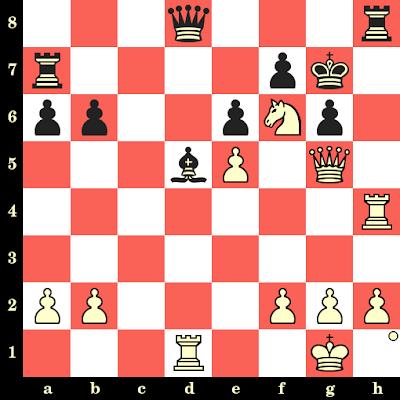 Les Blancs jouent et matent en 4 coups - James Tarjan vs Ramon Lontoc, Nice, 1974